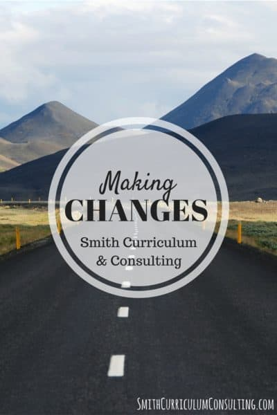 "Making Changes in the Business and Personally- 4mulaFun is now Smith Curriculum and Consulting ""Where Interactive Teaching and"