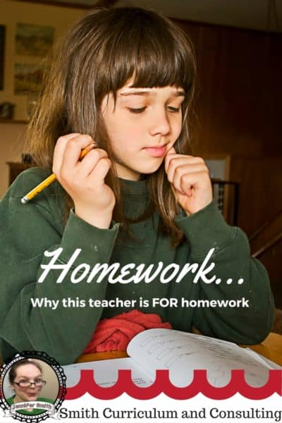 Homework- Why this teacher is FOR homework