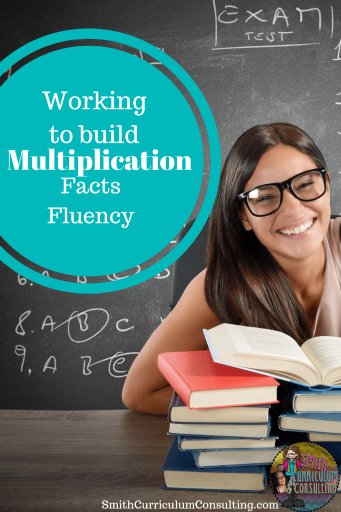 Working to Build Multiplication Fact Fluency - Smith Curriculum and ...