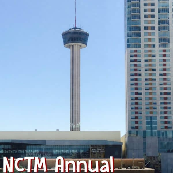 NCTM Annual Conference at San Antonio Convention Center