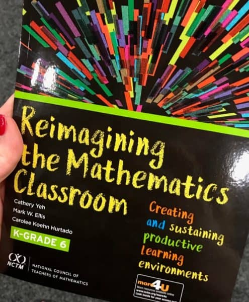 Reimagining the Mathematics Classroom for K-6 is all about Creating and Sustaining Productive Learning Environments