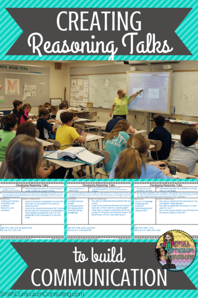 Creating Reasoning Talks to build Communication in your Math Classroom can revolutionize your classroom and build better learners!