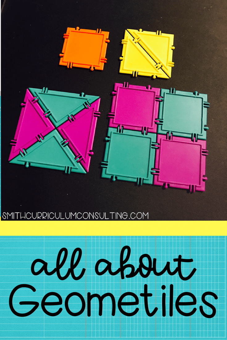 Using Geometiles in the classroom to deepen your student's understanding of geometry, fractions and more can be fun and engaging!