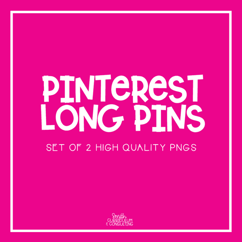 Don't let creating a Long Pin for Pinterest send you for a spin! Let me help you do it for you and take one thing off your to-do list!