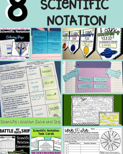 8 Engaging Activities for Scientific Notation