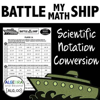 Battle My Math Ship Scientific Notation