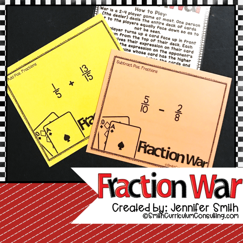 Fraction War- All Operations