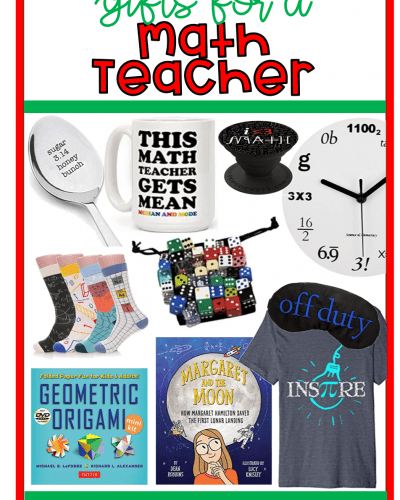 10 Gifts for Math Teachers