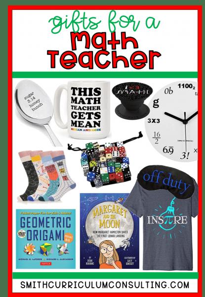 10 Gifts for Math Teachers