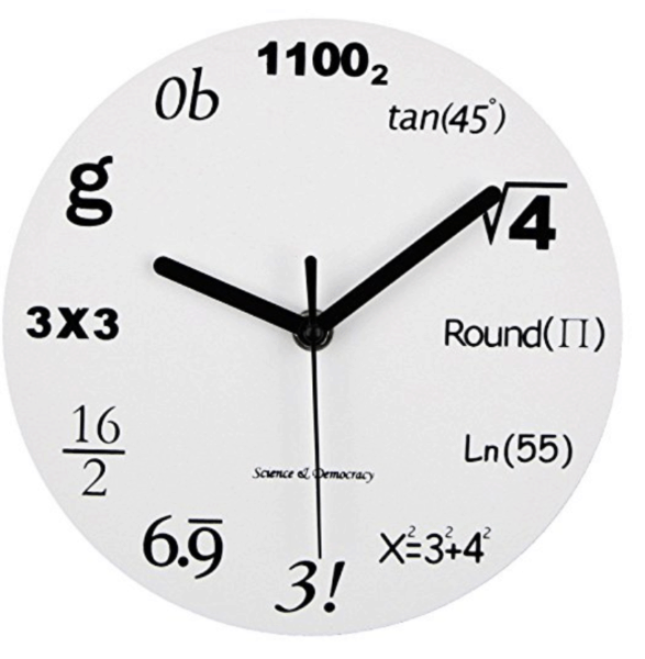 All About Math Clock