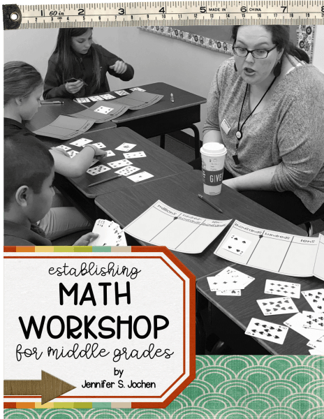 Math Workshop eBook with Editable Templates