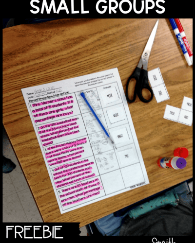 Differentiating Small Groups for Guided Math