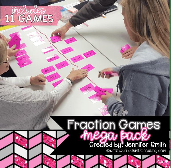 FRACTION GAMES MEGA PACK