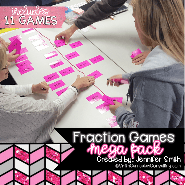 FRACTION GAMES MEGA PACK