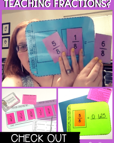 Frustrated With Teaching Fractions & Need Fraction Activities?