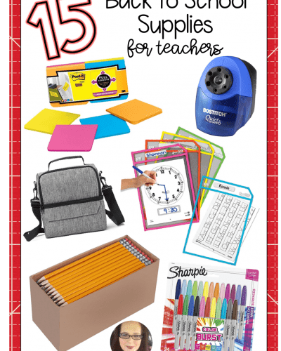 15 Items Every Teacher Needs for Back to School