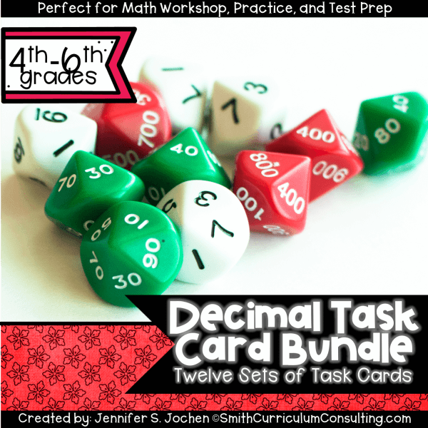 Decimal Task Card Bundle