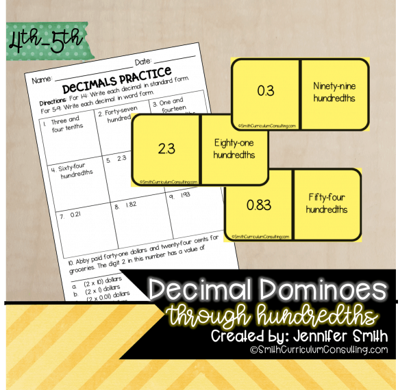 Decimal Dominoes