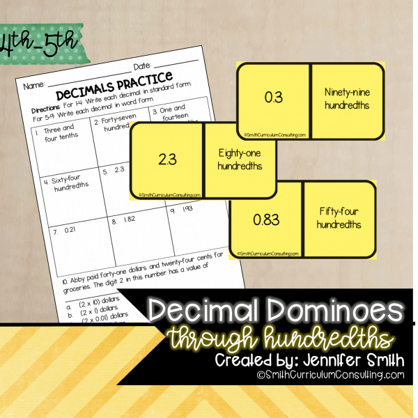 Decimal Dominoes