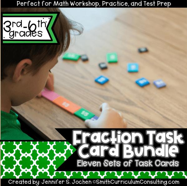 Fraction Task Card Bundle