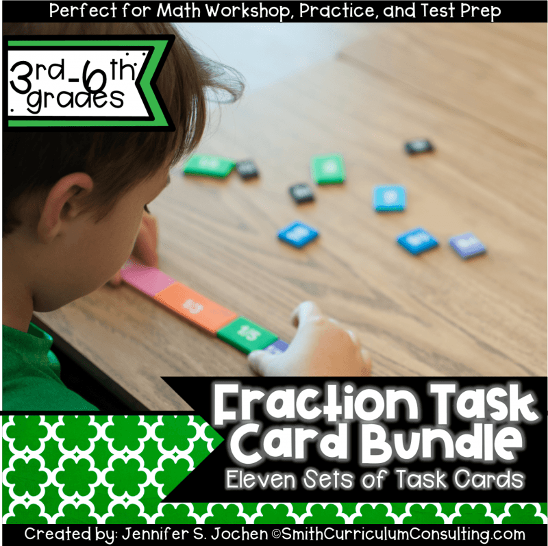 Fraction Task Card Bundle