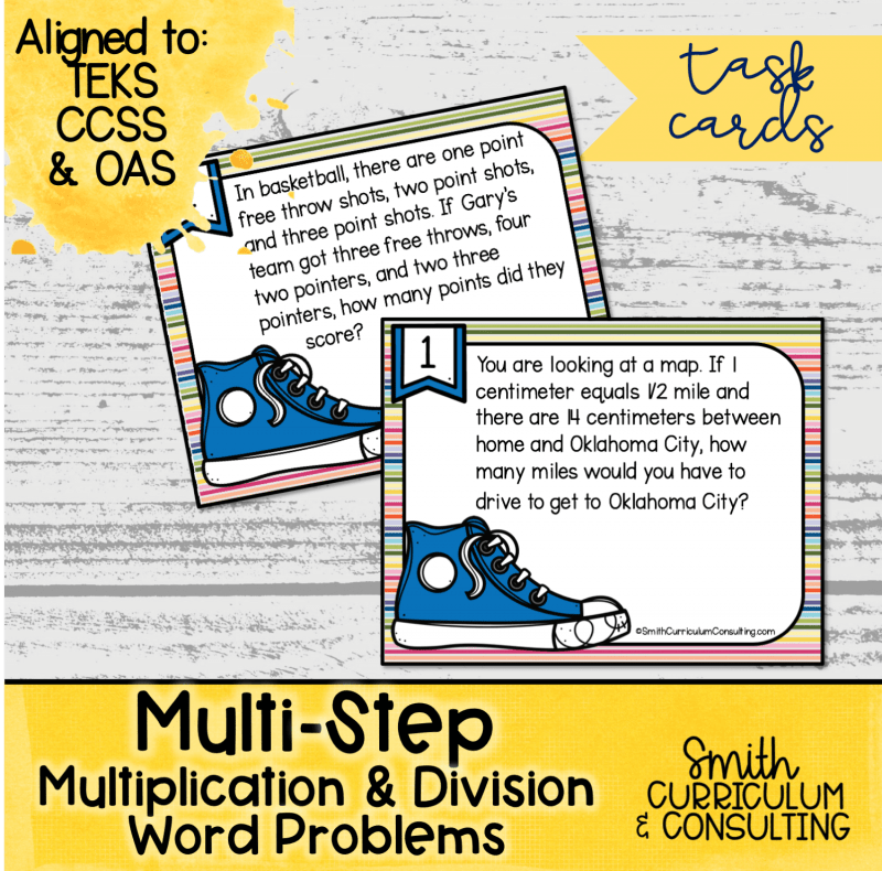 Multi Step Multiplication and Division