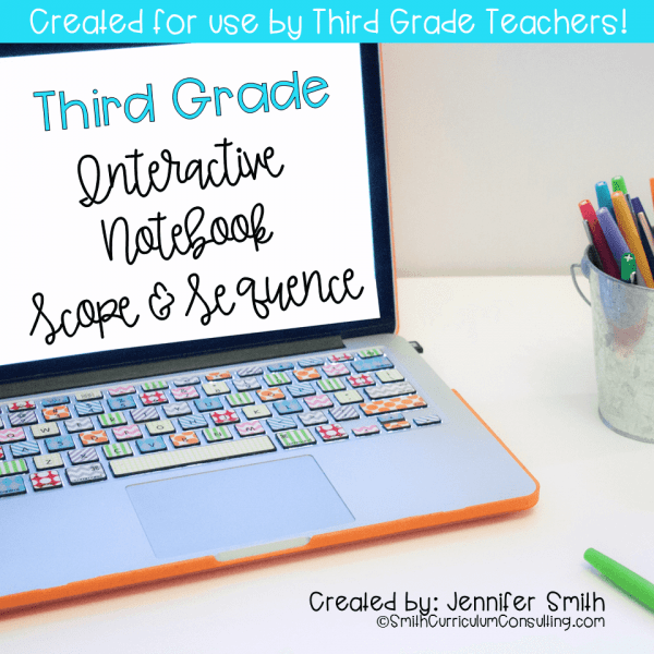 Third Grade Scope and Sequence