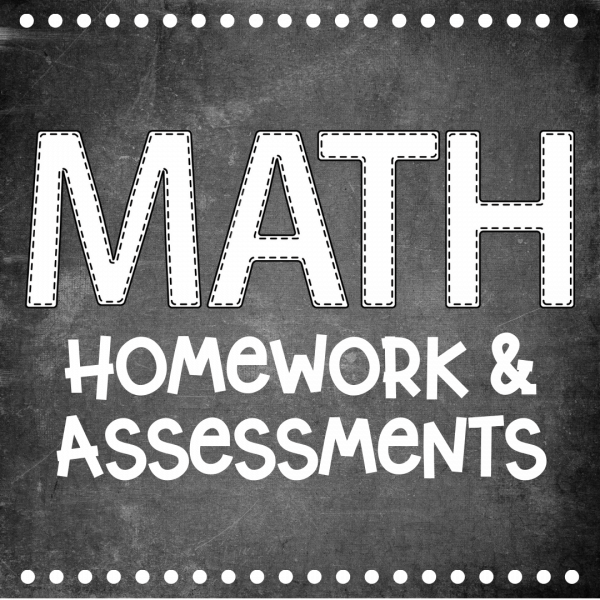 Homework/Assessment