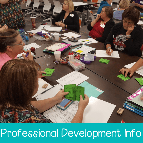 Professional Development Information with Smith Curriculum and Consulting