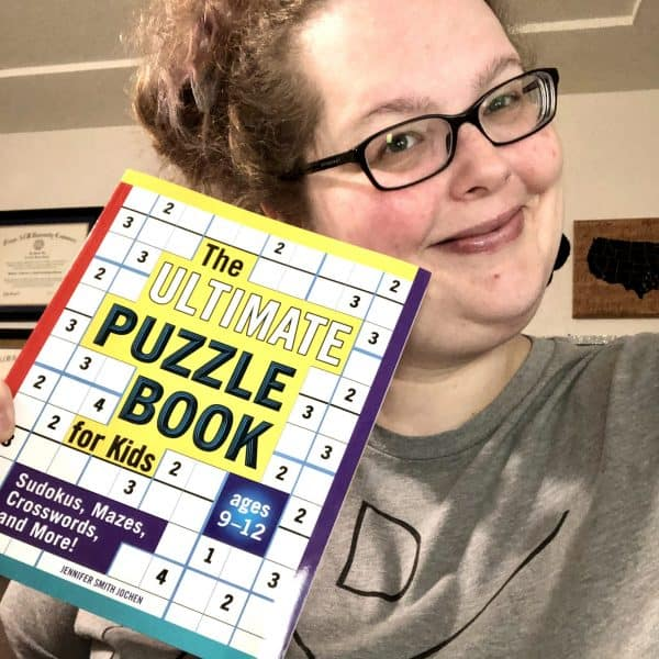 ultimate puzzle book for kids